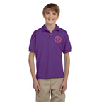 Gildan Youth DryBlend Jersey Polo Shirt