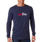 Bella+Canvas Mens Long-Sleeve Jersey Tee Shirt