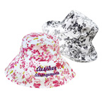 Ladies Wide Brim Flower Cap