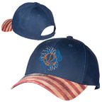 Patriotic 6 Panel Baseball Cap