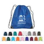 Nylon Drawstring Sports Backpack