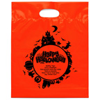 Fright Night Halloween Die Cut Bag