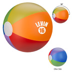 16 Inch Rainbow Beach Ball