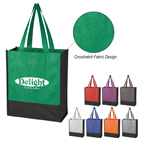 Crosshatch Mini Non Woven Tote Bag