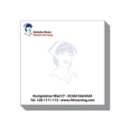 4x4 Adhesive Sticky Notepad - 25 Sheet