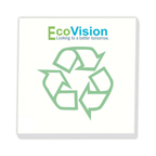 3x3 Adhesive Sticky Notepad - BiC Ecolutions Recycled - 25 Sheet