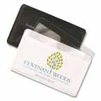 Credit Card Sheet Magnifier with Case