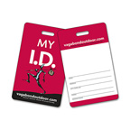 Laminated Plastic I.D./Wallet Card with Punch