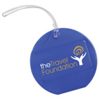 Circular Luggage Tag