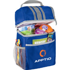 Double Compartment Lunch Bucket Cooler Bag