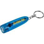 Torpedo Flashlight with Keychain