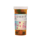 Large Pill Bottle with Candies