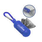 Pet Bag Dispenser with Carabiner