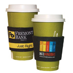 Full Color Coffee Sleeve
