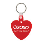Heart Soft Squeezable Keychain