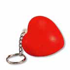 Heart Stress Reliever Keychain