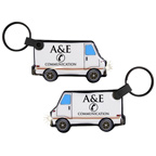 Delivery Truck Shape Light LED Key Tag