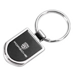Black Plated Street Key Tag