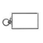 BLANK - Snap-In Business Card Flat Key Tag