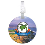 Full Color Domed Round Golf Bag Tag