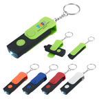 Swivel Stylus LED Light Keytag