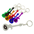 Guitar Metal Bottle Opener Key Tag