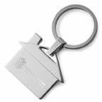House Shaped Metal Key Tag Holder