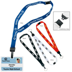 3/4 Inch Breakaway Lanyard with Key Ring