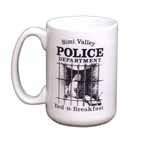 15oz. Coffee Mug - White