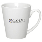 10 oz. Latte Mug - White