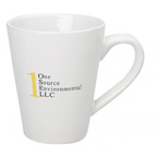 14oz. Medium Cafe Mug - White