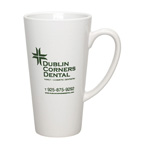 16oz. Cafe Mug - White
