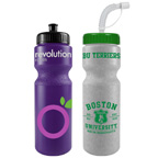 Colored 28 Ounce Bike Bottles