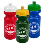 RECYCLED ECO FRIENDLY Wide Mouth 20 Ounce Bike Bottle.