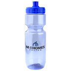 All American Translucent 22 Ounce Bike Bottle