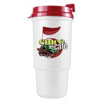 16 oz Insulated Auto Cup with Full Color Imprint