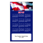 4 x 7 Stock Background Calendar Magnet - Full Color