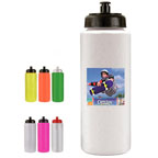 Full Color 32 OZ Sports Bottle with Push `n Pull Cap