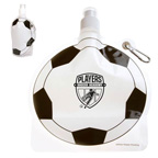 HydroPouch 24 oz.Soccer Ball Collapsible Water Bottle