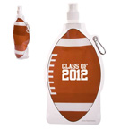 HydroPouch 16 oz.Football Collapsible Water Bottle