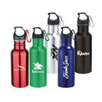 Wide Mouth Stainless Steel 22 oz. Water Bottle