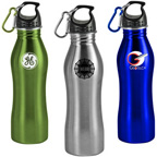 25 Oz Stainless Steel Contour Body Bottle