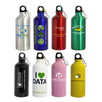 20 Oz Aluminum Bottle W/ Carabiner
