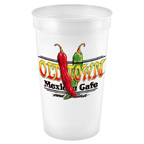 20 OZ Smooth Full Color Stadium Cup