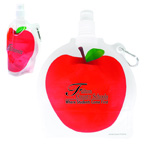 HydroPouch 24 oz Apple Collaspible Water Bottle