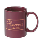 Colored 11 Ounce Ceramic Mug