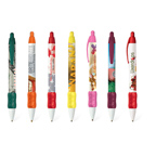 Bic Full Color Digital WideBody Color Grip Click Pen