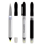 Illuminate 4 In 1 Highlighter Stylus Pen With LED