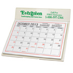 Desk Calendar with Mailing Envelope