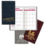 Executive Vinyl Monthly Pocket Planner